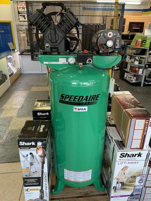 Speedaire 3 phase - Electrical Vertical Tank Mounted 5.00 HP Air Compressor 60gal for Sale in Miami, FL