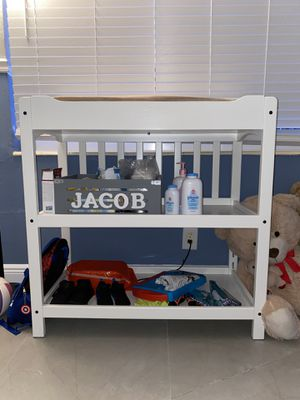 White Changing Table for Sale in Pompano Beach, FL