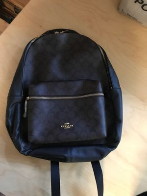 Brand new coach black and brown backpack for Sale in Carlsbad, CA