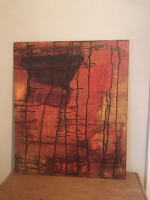 Abstract art / deco painting for Sale in Seattle, WA