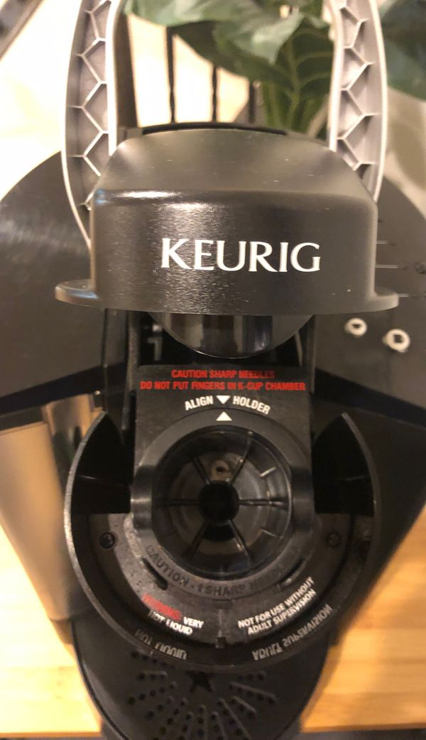Keurig Coffee maker with Pod tray