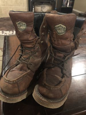 Wood N' Stream work boots - men's size 8 1/2 for Sale in Tacoma, WA