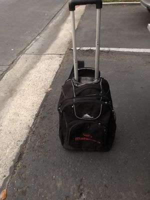 Hi Sierra roller backpack and luggage good shape for Sale in Huntington Beach, CA
