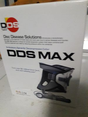 DDS MAX Ambulatory Spinal-Air Decompression Collar. for Sale in Miami, FL