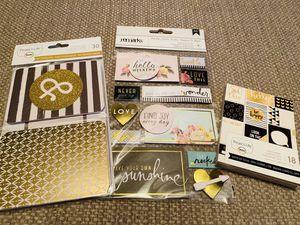 59pc Project Life Gold & Black Set for Sale in Elizabethton, TN