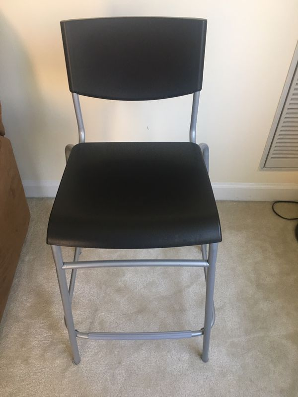 Ikea brand new bar stool with back rest