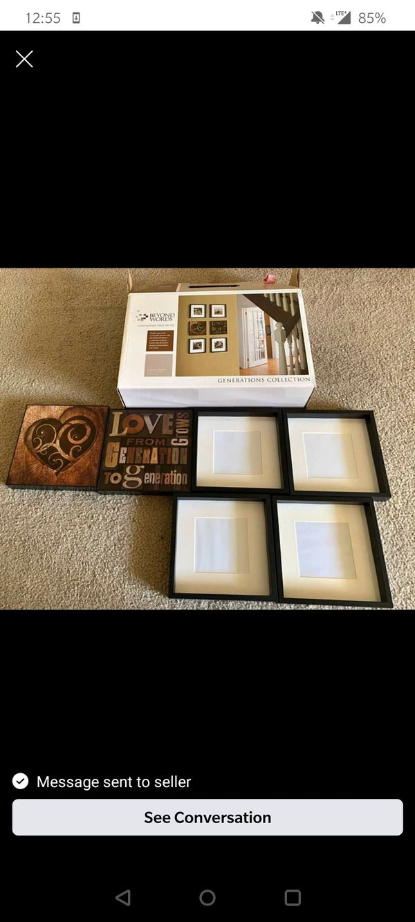 6 Photo frames