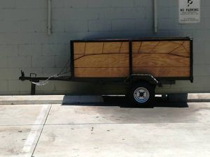 Christmas Special Nice Utility Trailer With Extras for Sale in Los Angeles, CA