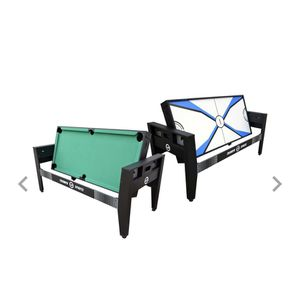 GAME TABLE CLASSIC SPORT 3 in 1 combo (BILLIARDS , AIR HOCKEY , PING PONG) for Sale in Newark, NJ