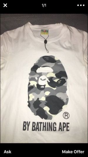 Brand new authentic bape shirt for Sale in Staten Island, NY