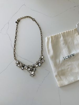 J. Crew crystal statement necklace for Sale in Santa Ana, CA