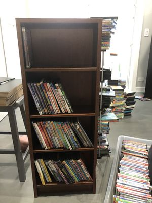 Small bookcase / DVDs / game storage. for Sale in Lombard, IL