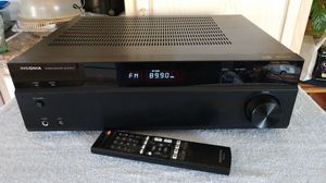 Insignia 2 Channel Stereo Amplifier Receiver with Bluetooth and Remote for Sale in Weirton, WV