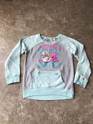 Shopkins LONG-SLEEVE SWEATSHIRT Girls size 7/8 for Sale in Worth, IL