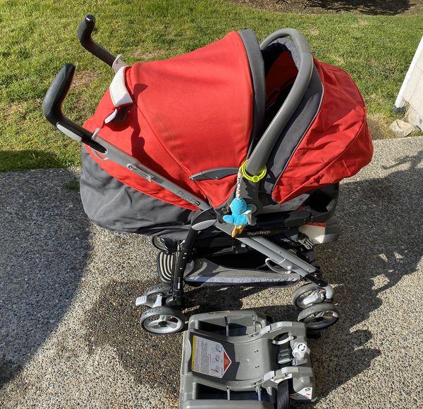 Peg Perego pliko-3 stroller and car seat