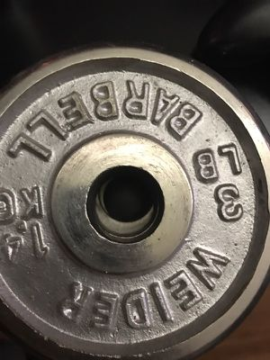 3lb weights for Sale in Rialto, CA