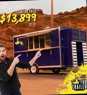 !!! BEST FOOD TRAILERS !!! GREAT DEALS AF2BM for Sale in Dallas, TX