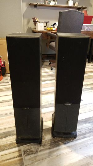 Polk Audio Tower Speakers (2) for Sale in Parker, CO