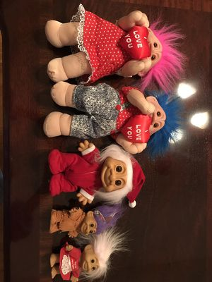Collection of trolls for Sale in Murfreesboro, TN