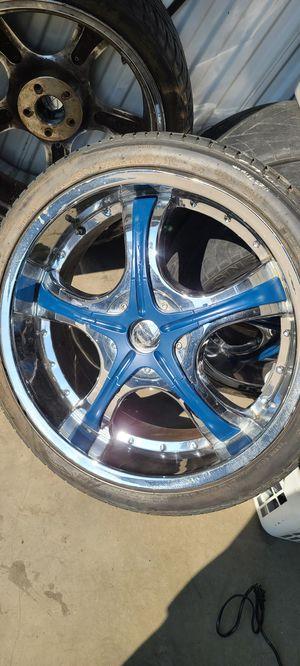 """22"""" wheels for Sale in Riverside, CA"""