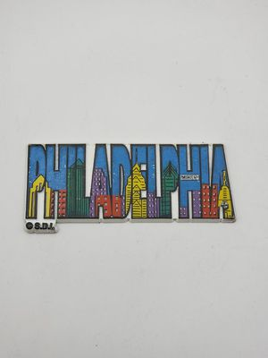 Vintage Philly Philadelphia city skyline magnet for Sale in Chino, CA