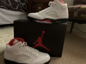 Air Jordan 5 Retro Fire Red for Sale in Calexico, CA