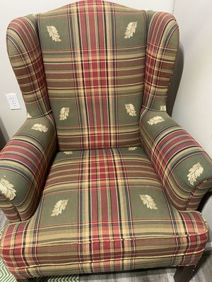 Wingback chair good condition used for Sale in Kensington, MD