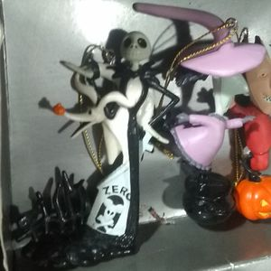 Applause Nightmare Before Christmas ornament set for Sale in San Antonio, TX