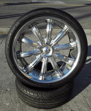 "22"" FORD Explorer Wheels & Tires Flex Sienna Odyssey Quest Frontier Charger 300c Range Rover Jeep Tacoma Murano setof4 for Sale in Los Angeles, CA"