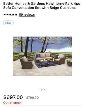 Brand new. Better home and garden patio furniture set for Sale in Scottsdale, AZ
