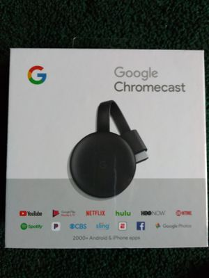 Chromecast BRAND NEW for Sale in Gig Harbor, WA