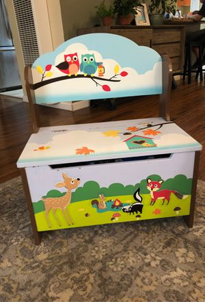 Forest animal toy box for Sale in Hayward, CA