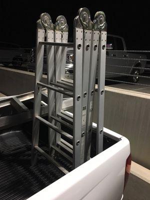 Ladder/versaladder 8'A frame or 16' exstention for Sale in Glendale, AZ