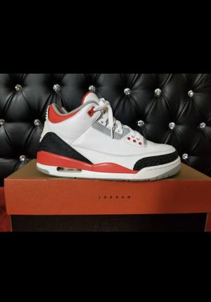 Jordan 3 fire red size 9 for Sale in Los Angeles, CA