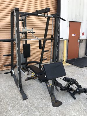 Hoist Commercial Home Gym/ Smith Machine, Squat Rack, Lat Pull, Bench etc for Sale in Davenport, FL
