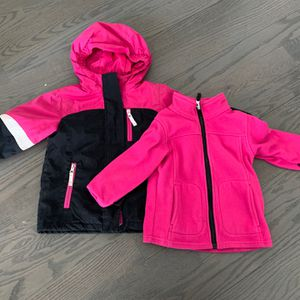 Lands End Toddler 3-in-1 Winter Coat, 3T for Sale in Chicago, IL