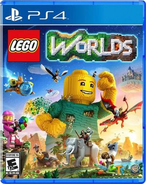 Lego Worlds PS4 for Sale in Chicago, IL