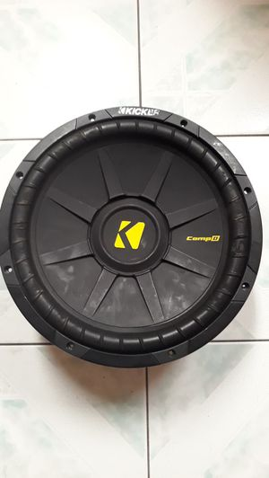 "12"" subwoofer for Sale in Auburndale, FL"