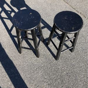 Black Wooden Bar Stools for Sale in Gaithersburg, MD