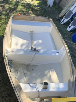 Vintage wd schock sailboat Nice Row Boat for Sale in Mission Viejo,  CA
