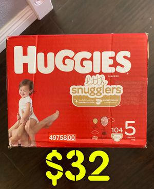 Huggies Diapers size 5 for Sale in Long Beach, CA