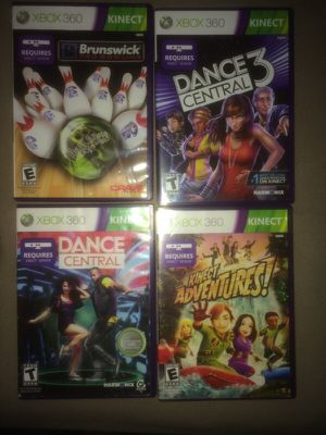 Xbox 360 Kinect games for Sale in West Valley City, UT
