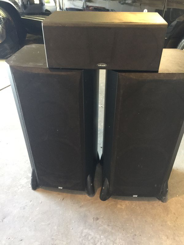Polk audio home theater system speakers