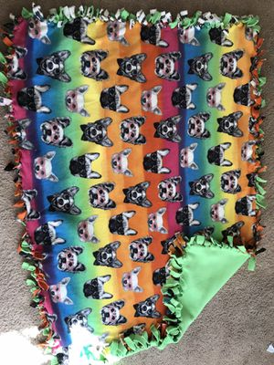 Rainbow pup blanket for Sale in Lexington, SC