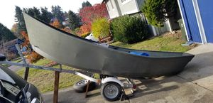 Alumina Wield late 70's early 80's drift boat for Sale in Kent, WA