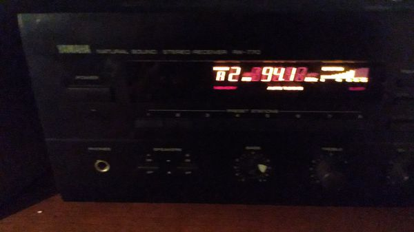 Yamaha natural sound stereo receiver