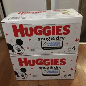 HUGGIES SIZE 4 176 pañales for Sale in Compton, CA