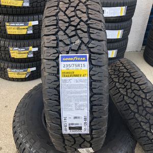 Goodyear 235/75/15 TrailRunner At for Sale in Los Angeles, CA