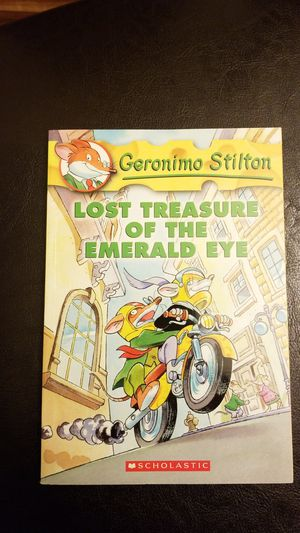 Geronimo Stilton Lost Treasure of the Emerald Eye for Sale in Bothell, WA