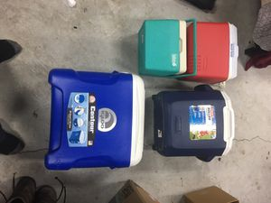 Assorted Coolers Good shape Buy 1 or buy all for Sale in Chesapeake, VA